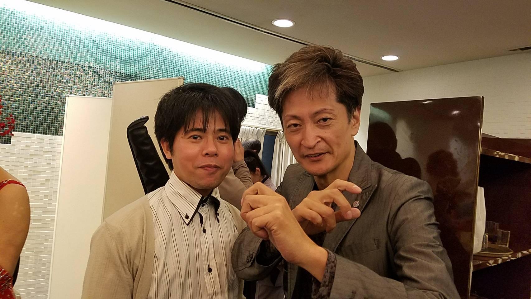 左:前田院長、右:徳丸新作氏