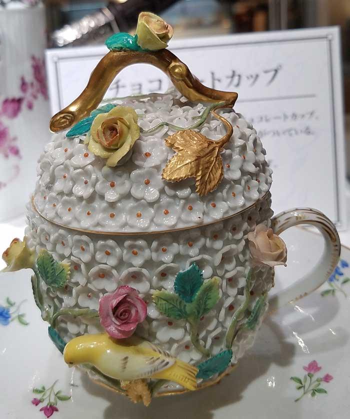 18世紀ドイツ・ドレスデン窯 チョコレートカップ